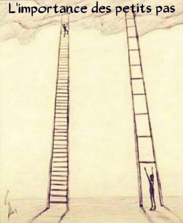 L'importance des petits pas pour atteindre ses objectifs